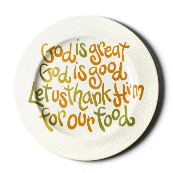 God Is Great Platter by Coton Colors