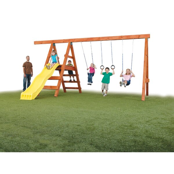 Ready to Build Custom Swing Set Hardware (Wood Not Included) by Swing-n-Slide