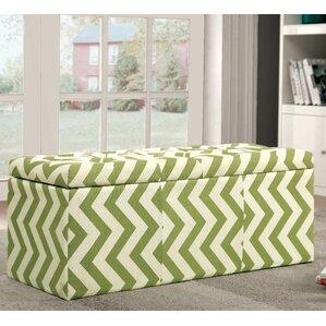 Zarah Upholstered Storage Bench by Latitude Run