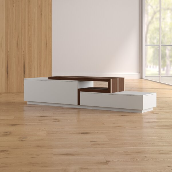 Charleroi TV Stand for TVs up to 55 by Wade Logan