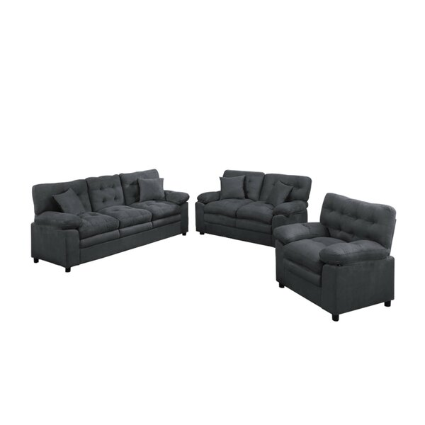 Foell 3 Piece Living Room Set by Red Barrel Studio