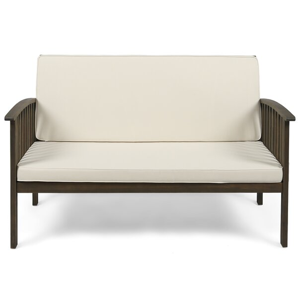 Bryant Loveseat with Cushion by Gracie Oaks
