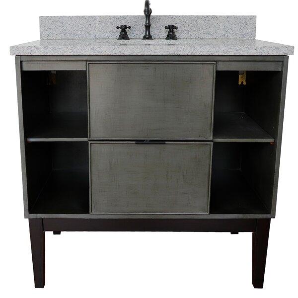 Asher 37 Single Bathroom Vanity by Bloomsbury Market