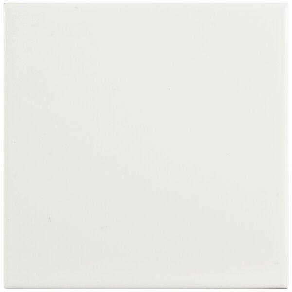 Prospect 6 x 6 Ceramic Field Tile in Glossy White by EliteTile