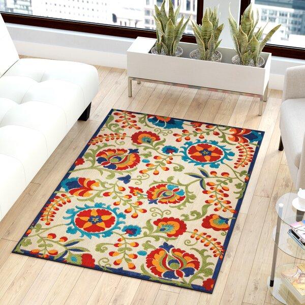 Lahaina Donohoe Multicolor Indoor/Outdoor Area Rug by Sol 72 Outdoor