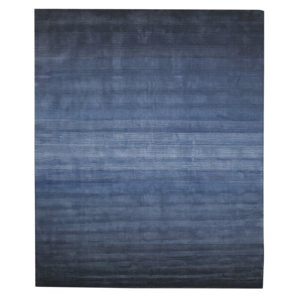 Lacomb Hand-Woven Blue Area Rug by The Conestoga Trading Co.