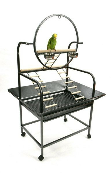 "The ""O Parrot Play Stand by A&E Cage Co."