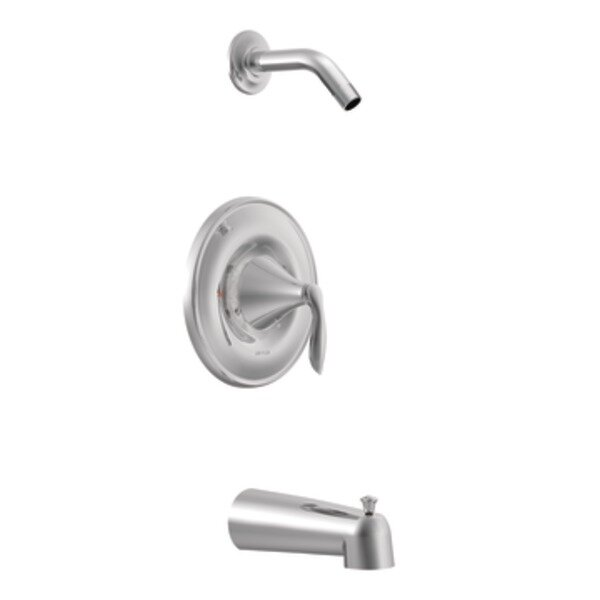 Eva Tub and Shower Faucet Trim with Lever Handle by Moen