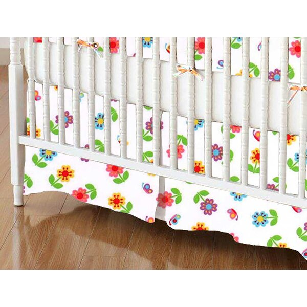 Roses Crib Skirt by Sheetworld