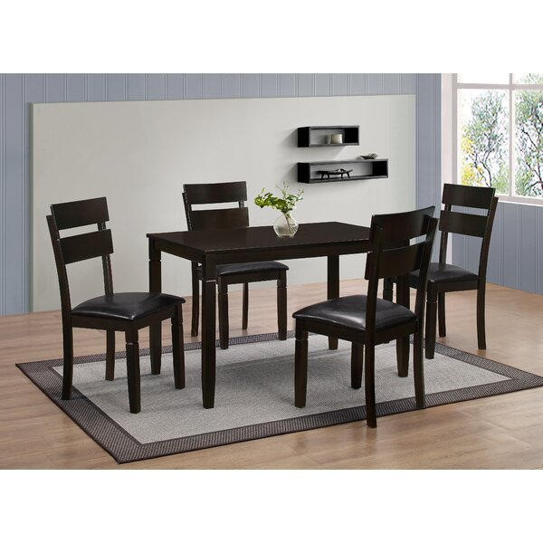 Winnetka 5 Piece Dining Set by Red Barrel Studio