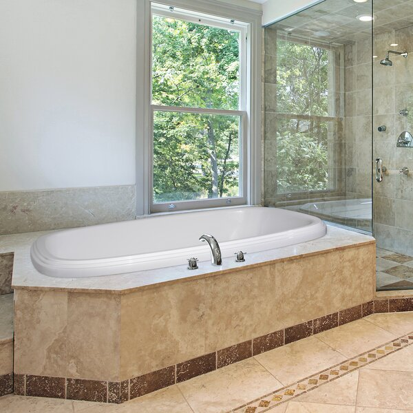 Designer Sylvia 66 x 38 Air Tub by Hydro Systems
