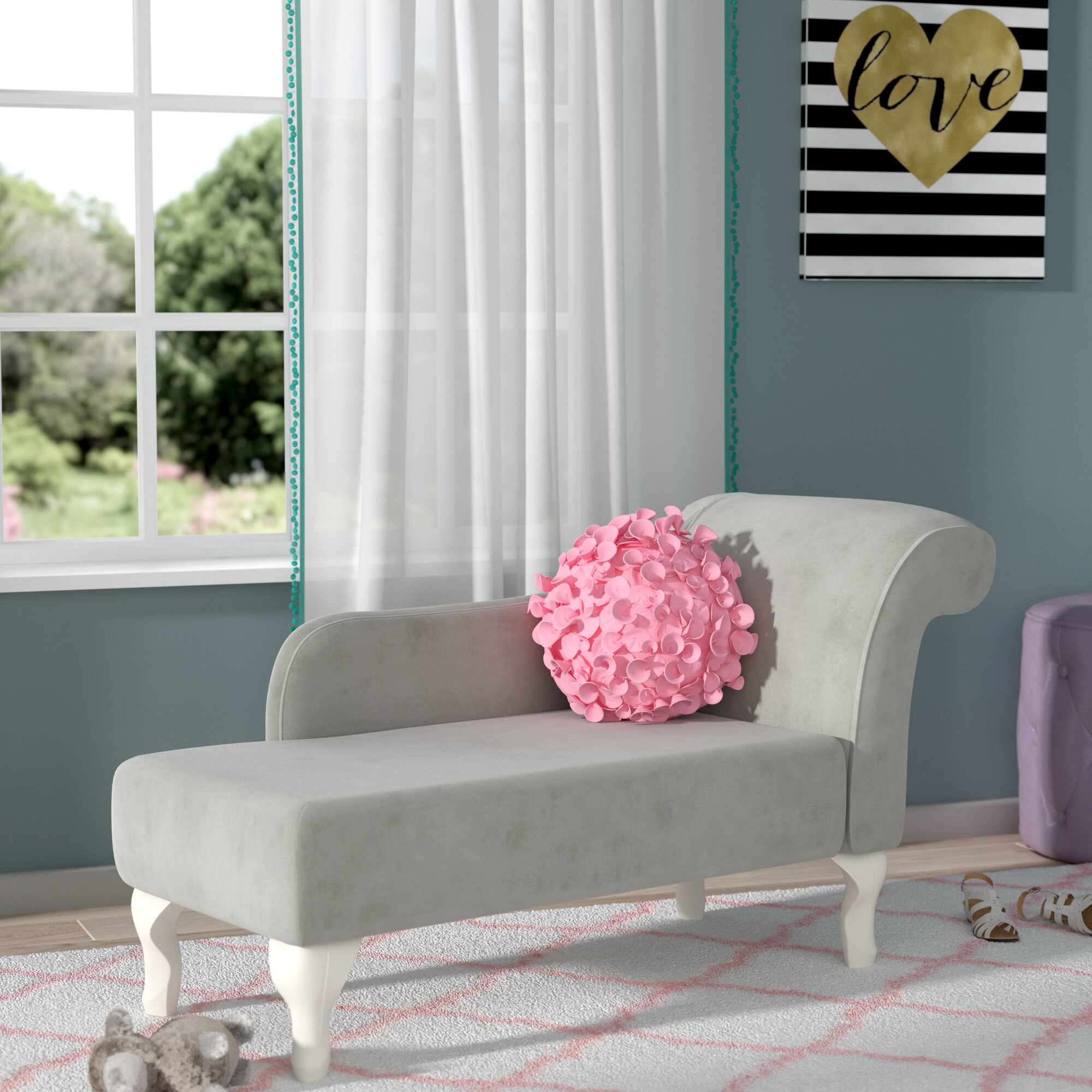 id velvet century furniture longues longue seating pink chaise salmon master at sale french f for in