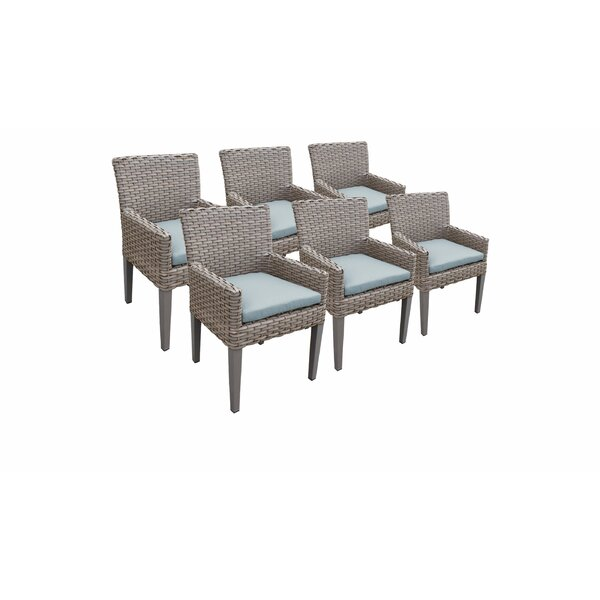 Kenwick Patio Dining Chair with Cushion (Set of 6) by Sol 72 Outdoor