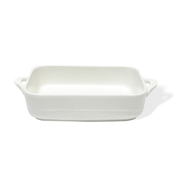 White Basics Oven Chef Rectangular Baker (Set of 2) by Maxwell & Williams