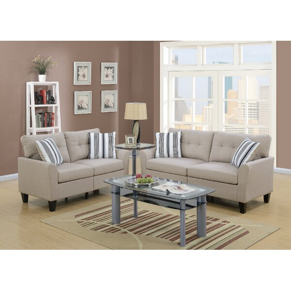 Drees 2 Piece Living Room Set by Ebern Designs