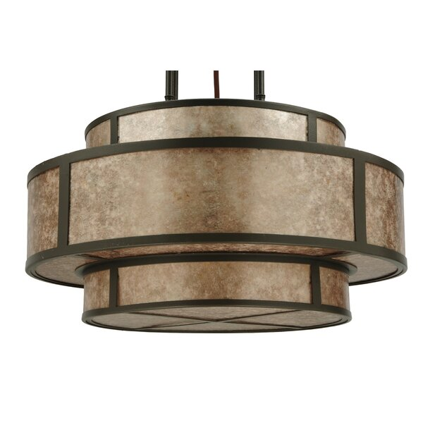 Andreas II 6-Light Pendant by Meyda Tiffany