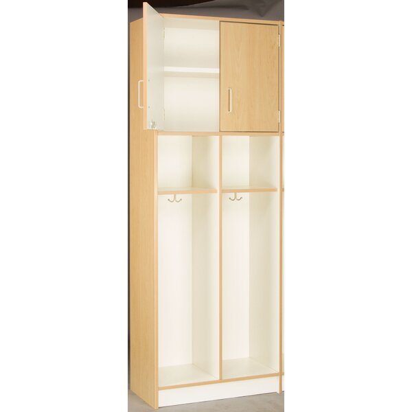 2 Section Coat Locker by Stevens ID Systems2 Section Coat Locker by Stevens ID Systems