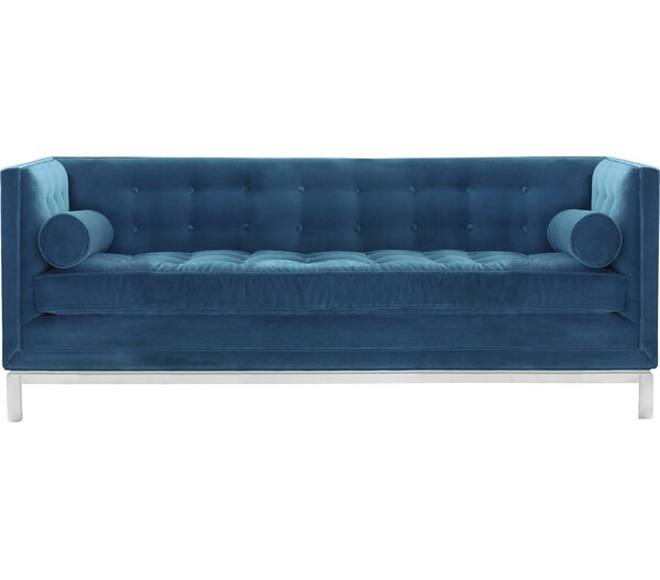 Cool Collection Lampert Chesterfield Sofa by Jonathan Adler by Jonathan Adler