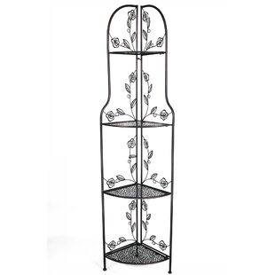 Check Out Essexville Rosa Steel Baker's Rack Purchase Online