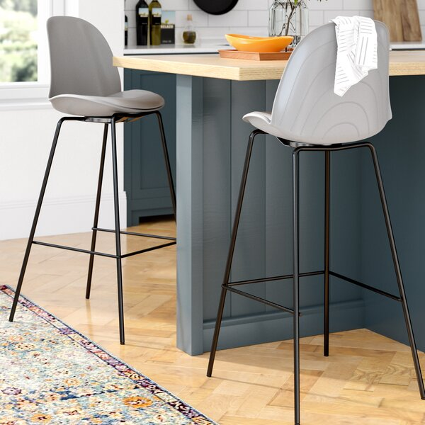 Dufour 31.5 Bar Stool (Set of 2) by Mercury Row