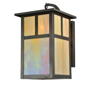 1-Light Outdoor Wall Lantern By Meyda Tiffany Outdoor Lighting