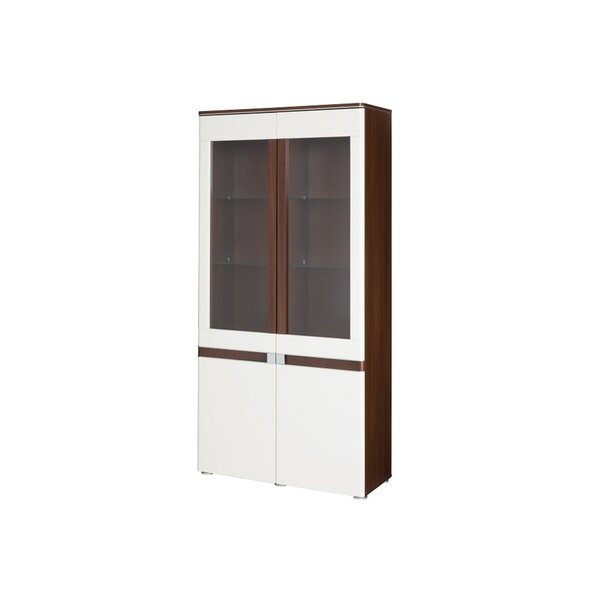 Rockmart Lighted China Cabinet by Orren Ellis