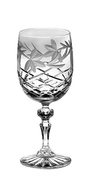 Grape 9 Oz. Crystal Glass (Set of 4) by Majestic Crystal