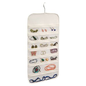 Hanging Jewelry Organizer 37 Pockets Bedroom Closet by Rebrilliant