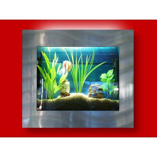 Aussie 4 Gallon Wall Mounted Aquarium Tank by Vandue Corporation