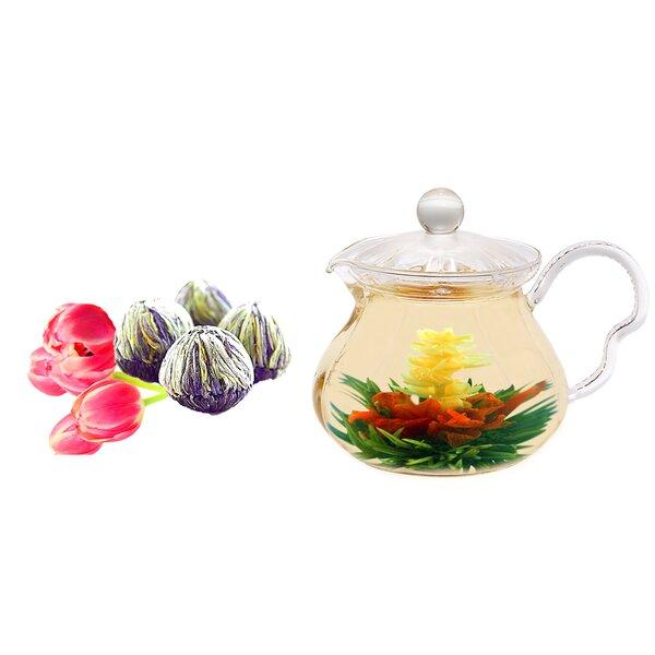 Fairy 0.63-qt. Jasmine Fab Flowering Teapot by Tea Beyond