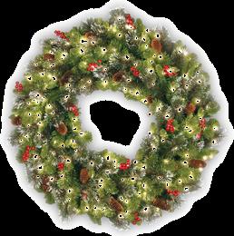 Lighted Window Christmas Decorations Sale