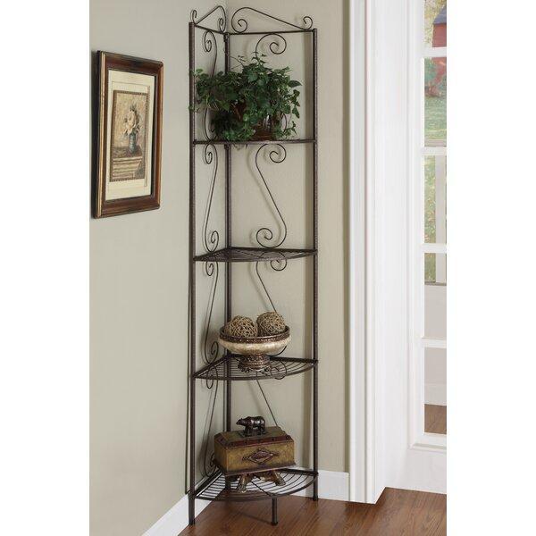 Corner Bookcase by Monarch Specialties Inc.