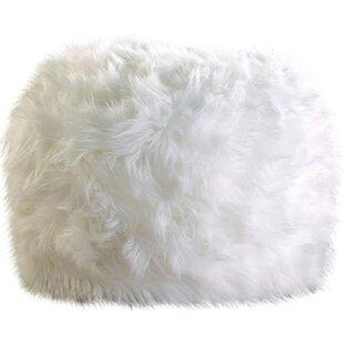 Sallie Fuzzy Pouf