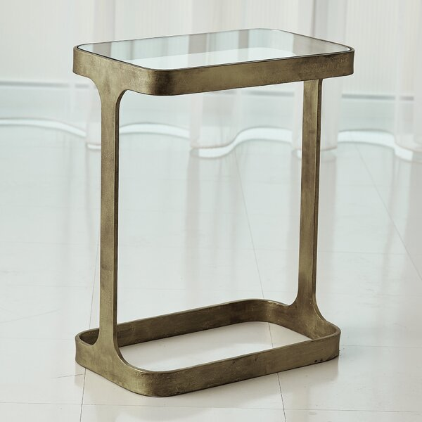 Saddle End Table by Studio A Home