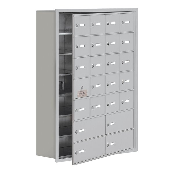 6 Tier 4 Wide EmpLoyee Locker by Salsbury Industri