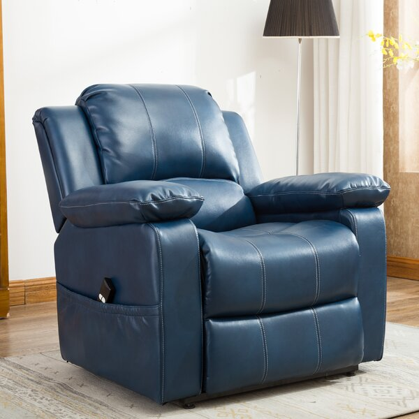 Connolly Power Lift Assist Recliner by Red Barrel