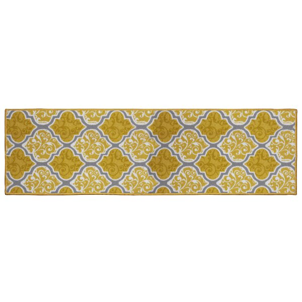 Kiana Yellow Area Rug by Structures