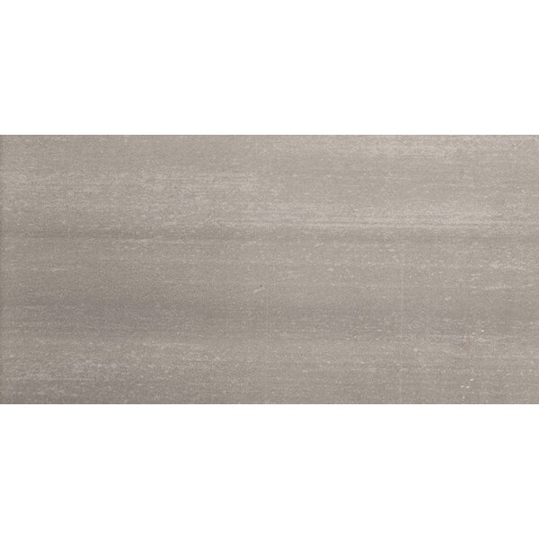 Perspective 12 x 24 Porcelain Fabric Look/Field Tile in Gray by Emser Tile