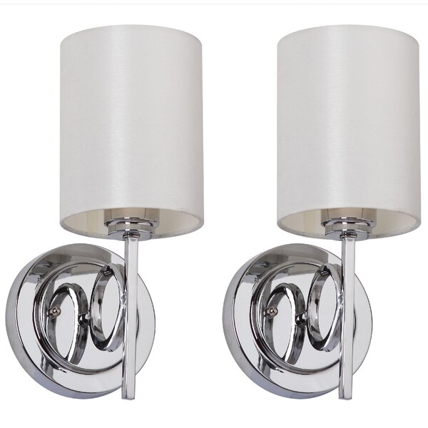 Ventura 1-Light Armed Sconce (Set of 2) by Safavieh