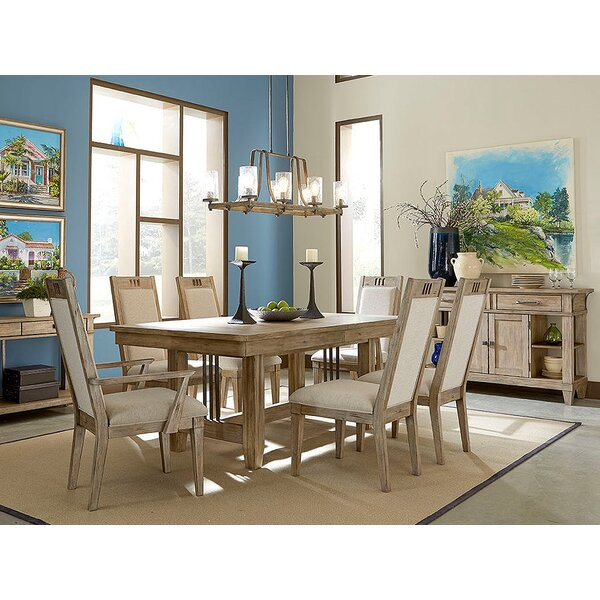 Ariel 7 Piece Extendable Solid Wood Dining Set by Gracie Oaks