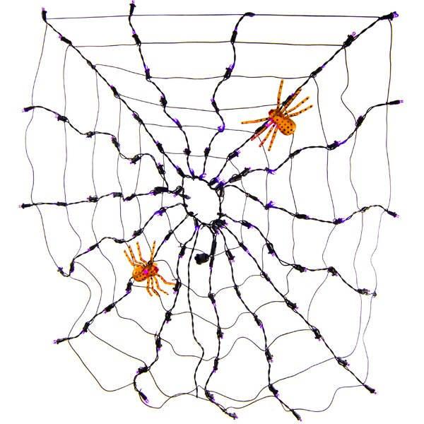 Spider Web Net LED Light by Queens of Christmas