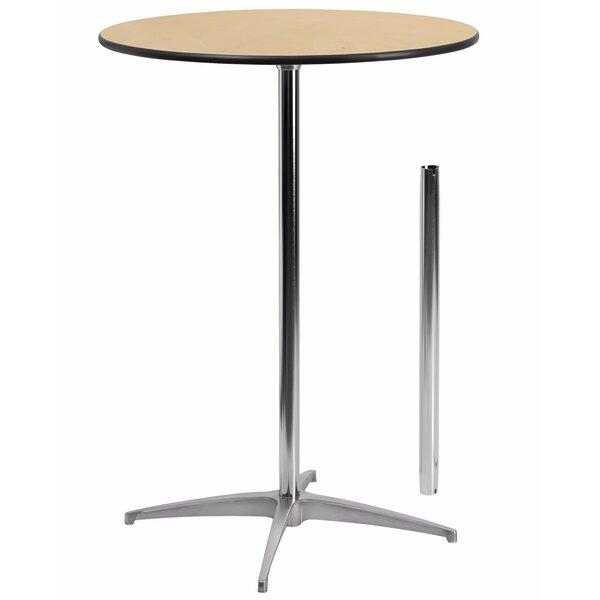 Finnegan Round Wood Coffee Table By Ebern Designs