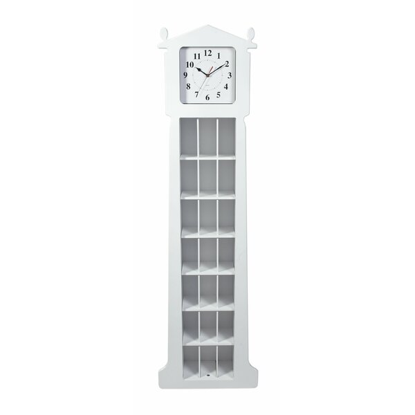 62 Floor Clock with CD Organizer by Gift Mark