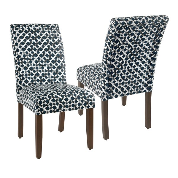 Luxton Upholstered Dining Chair (Set of 2) by Alcott Hill
