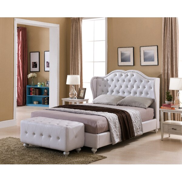 Matz Upholstered Standard Bed by House of Hampton