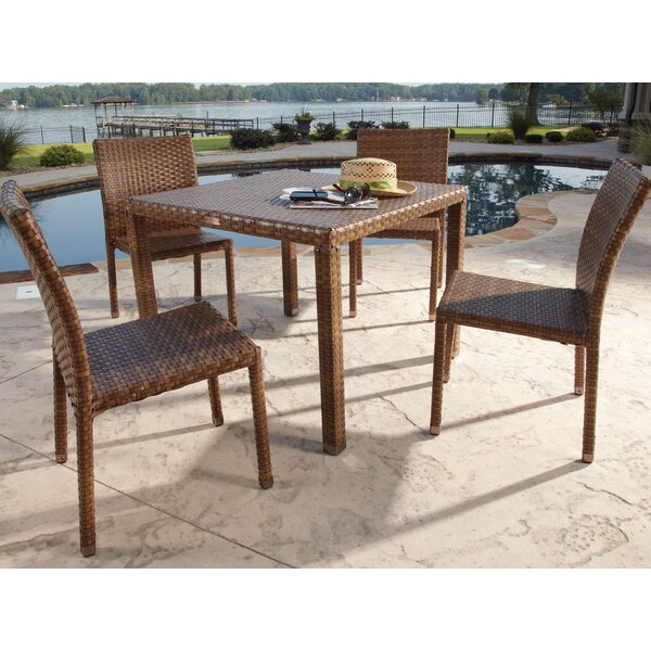 St Barths 5 Piece Dining Set by Panama Jack Outdoor