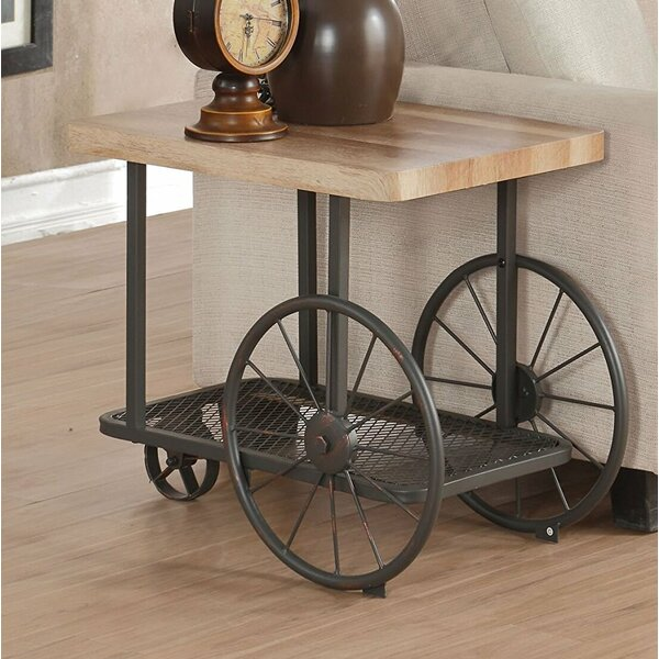 Lechner Mobile End Table by 17 Stories