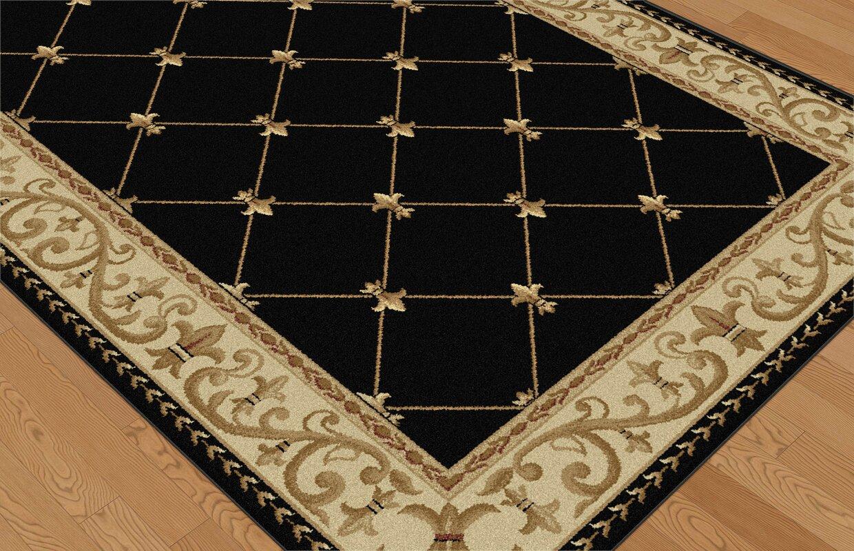 clarence blackgold area rug. astoria grand clarence blackgold area rug  reviews  wayfair