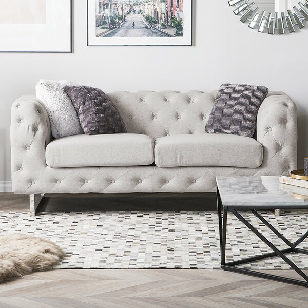 Teague 2 Seater Chesterfield Loveseat by Mercer41