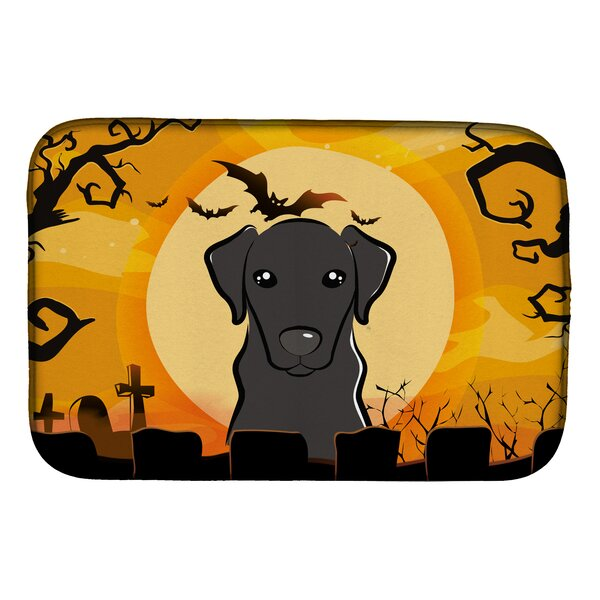 Halloween Labrador Dish Drying Mat by Caroline's Treasures